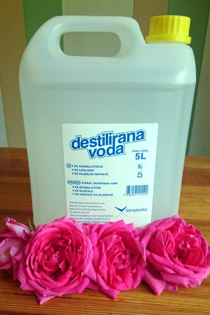 homemade rose water ingredients recipe procedure