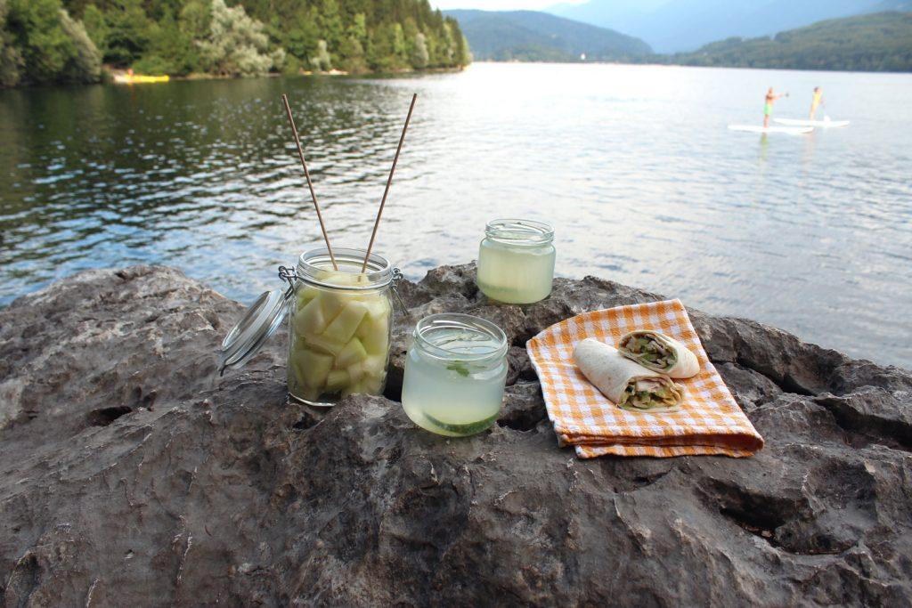 zero waste plastic free picnic bohinj slovenia