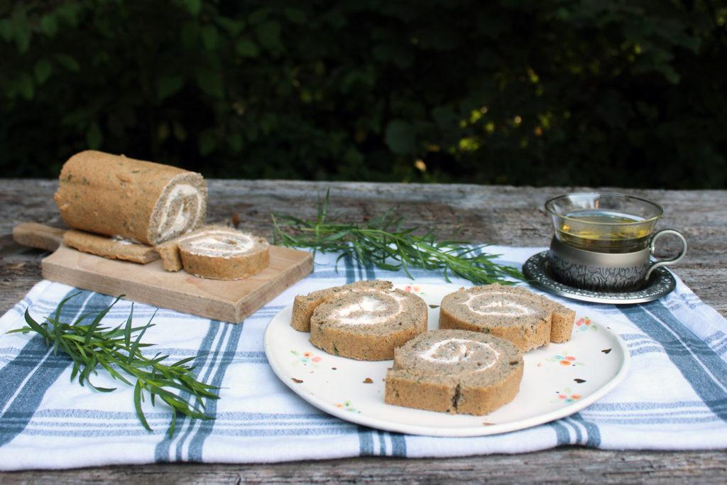 tarragon buckwheat swiss roll tea use recipe