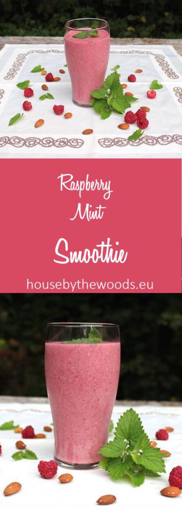 Raspberry mint smoothie recipe