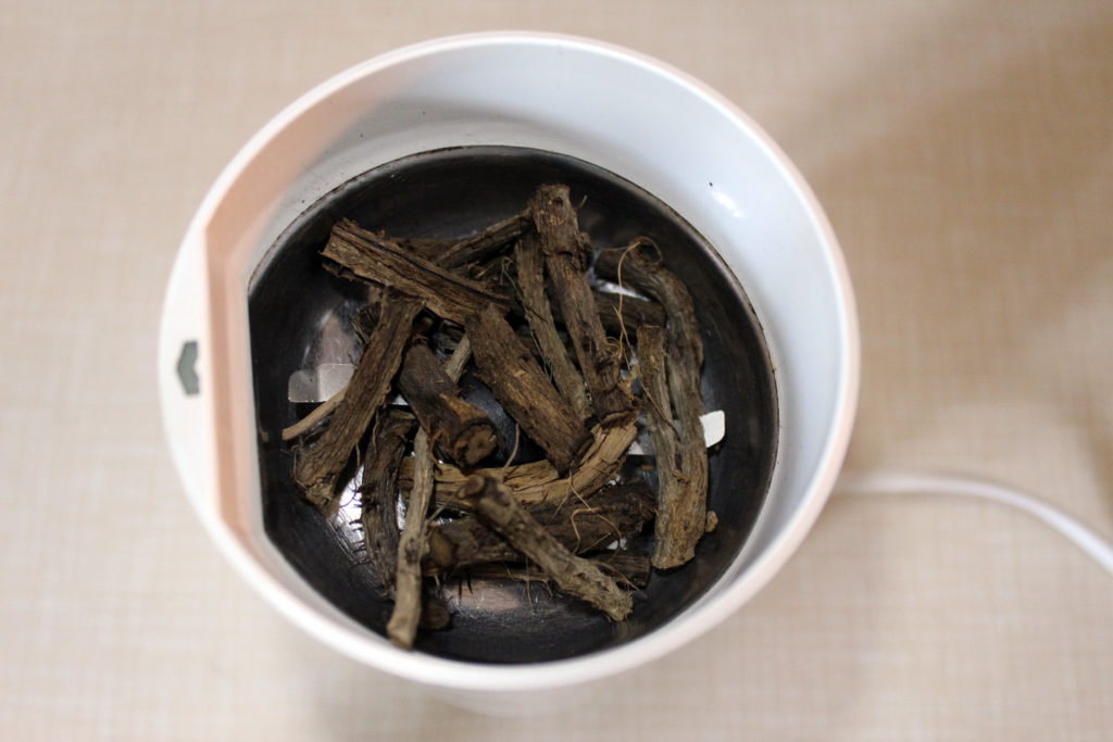 dandelion root recipe use tea grind